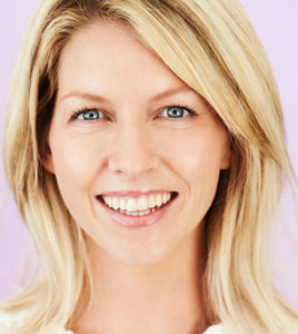 La Jolla dentistry patient had her missing teeth fixed with restorative dentistry near Rancho Santa Fe.
